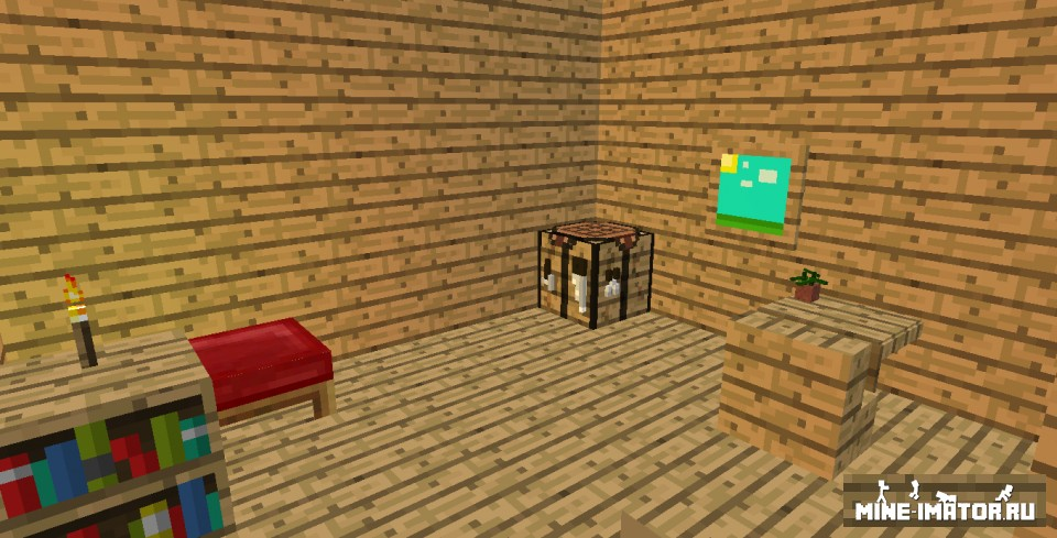 Mine-imator Дом в 3D