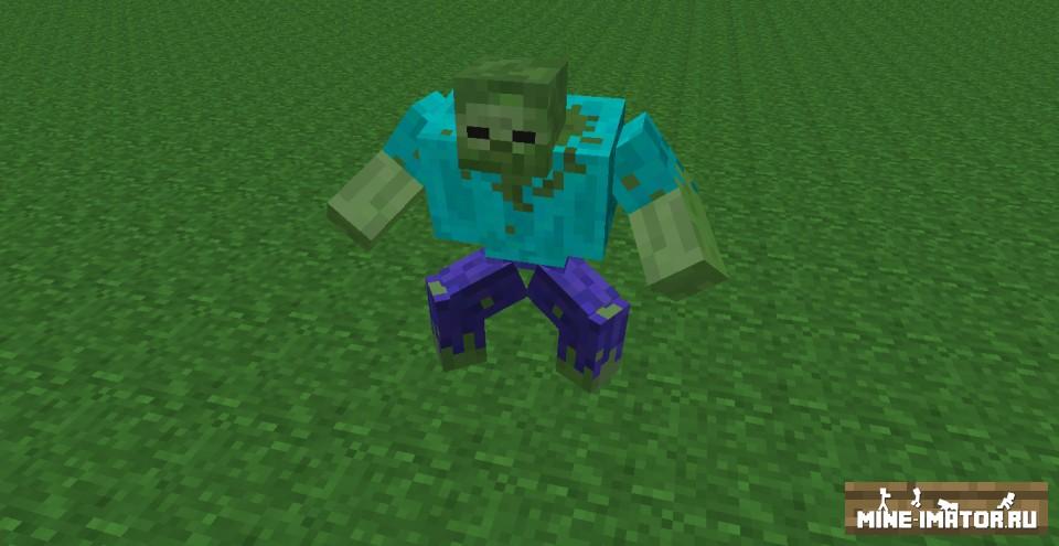 Mine-imator Зомби-мутант