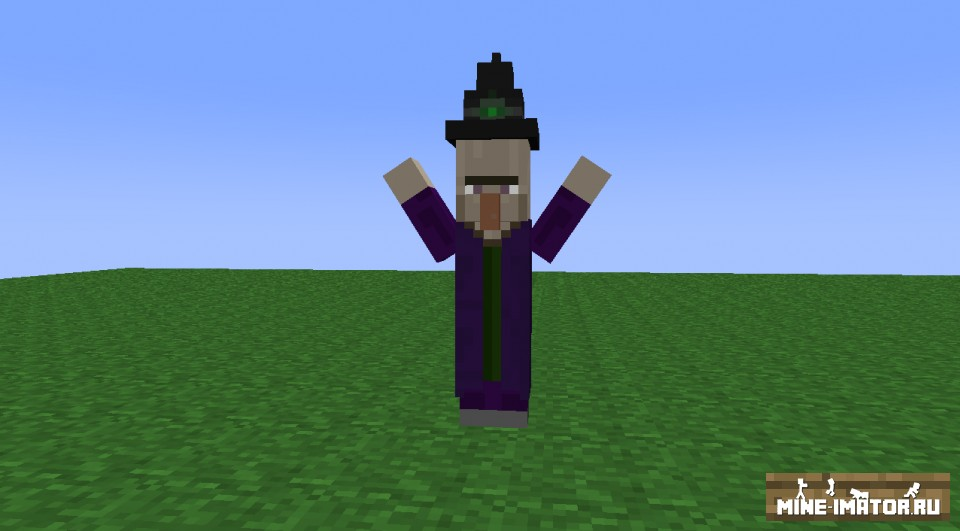 Mine-imator Ведьма