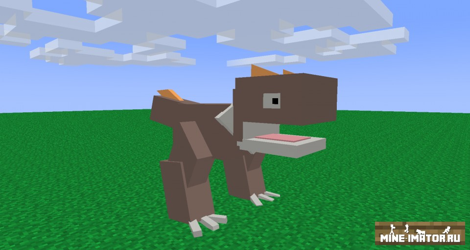 Mine-imator Покемон Tyrunt