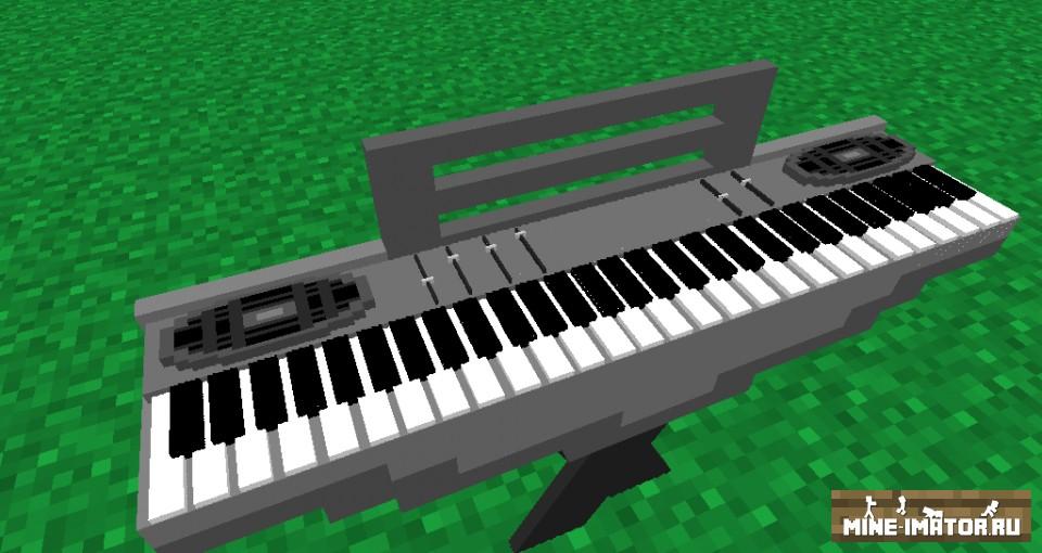 Mine-imator Музыкальные инструменты