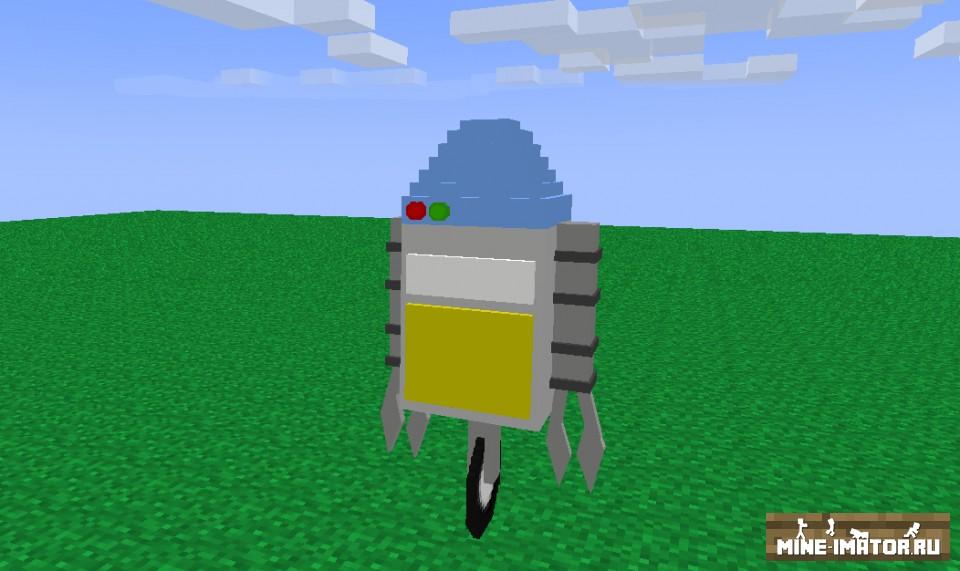 Mine-imator Робот
