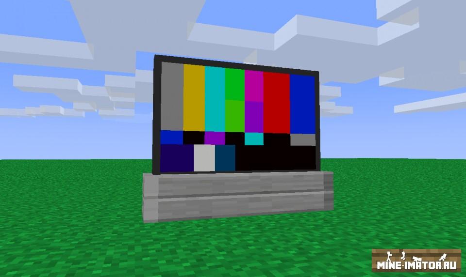 Mine-imator Телевизор