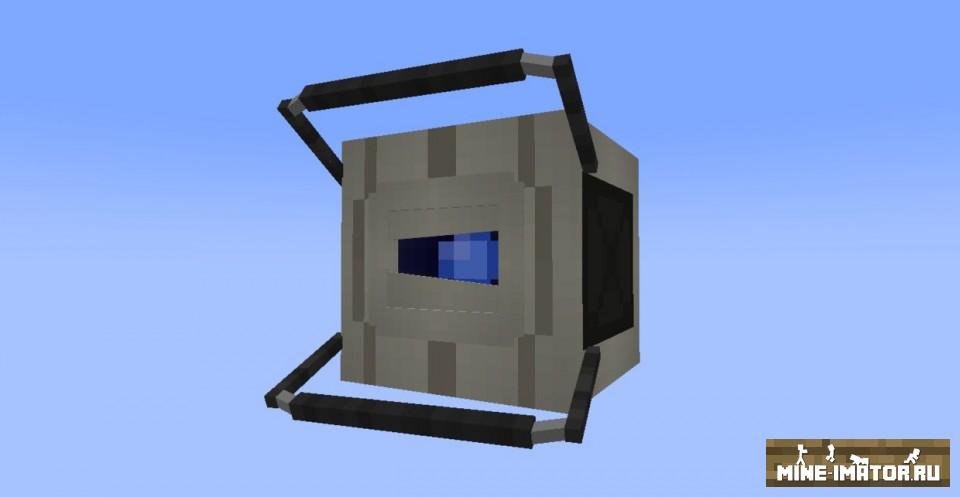 Mine-imator Wheatley из Portal 2