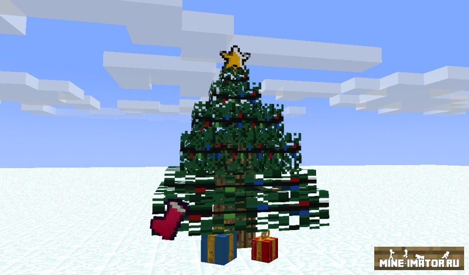 Mine-imator Рождественский набор
