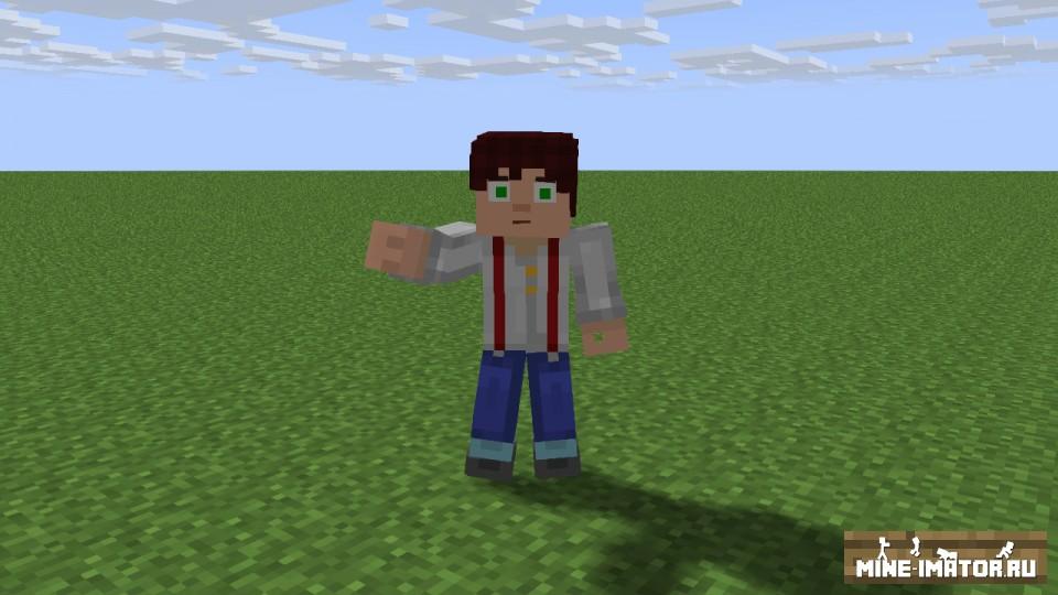 Mine-imator Джесси из Minecraft: Story Mode