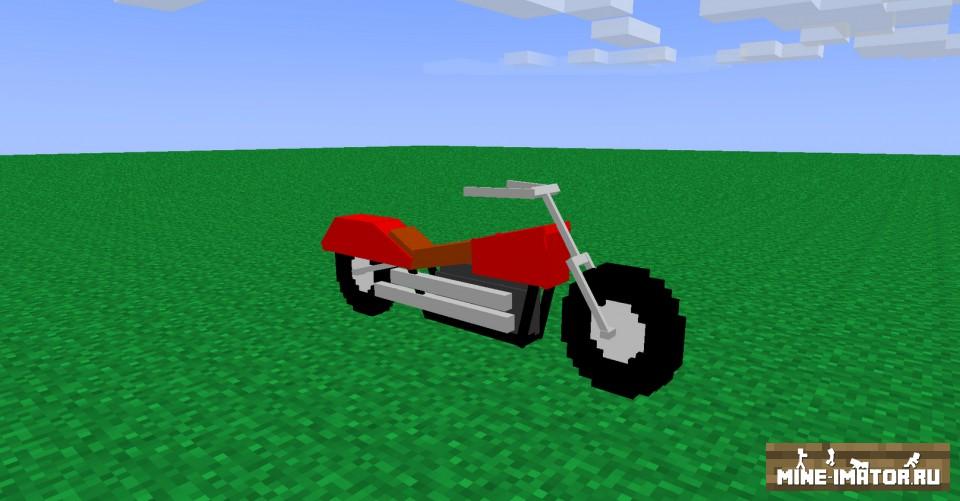 Mine-imator Мотоцикл