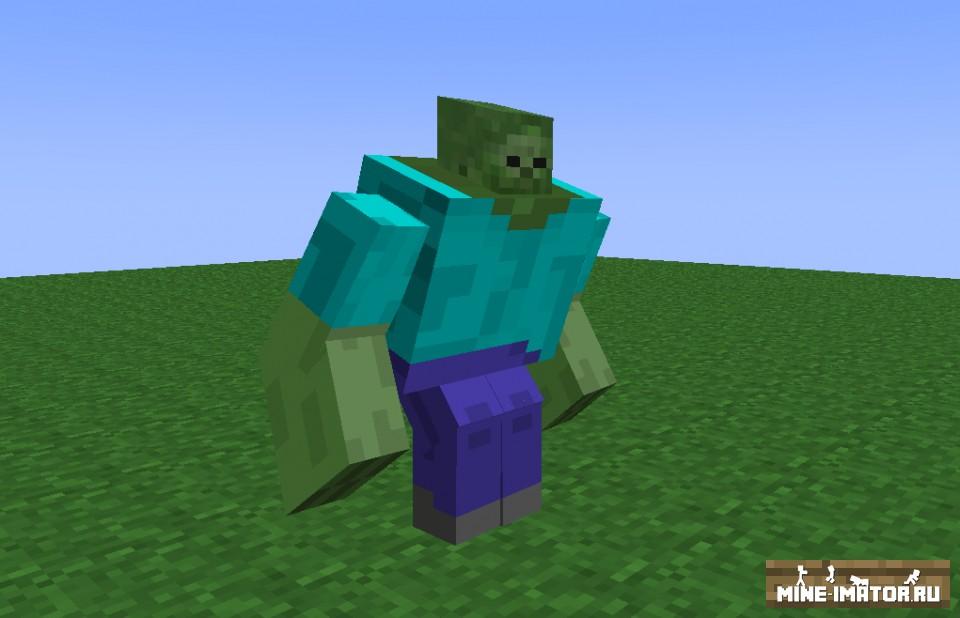 Mine-imator Зомби мутант
