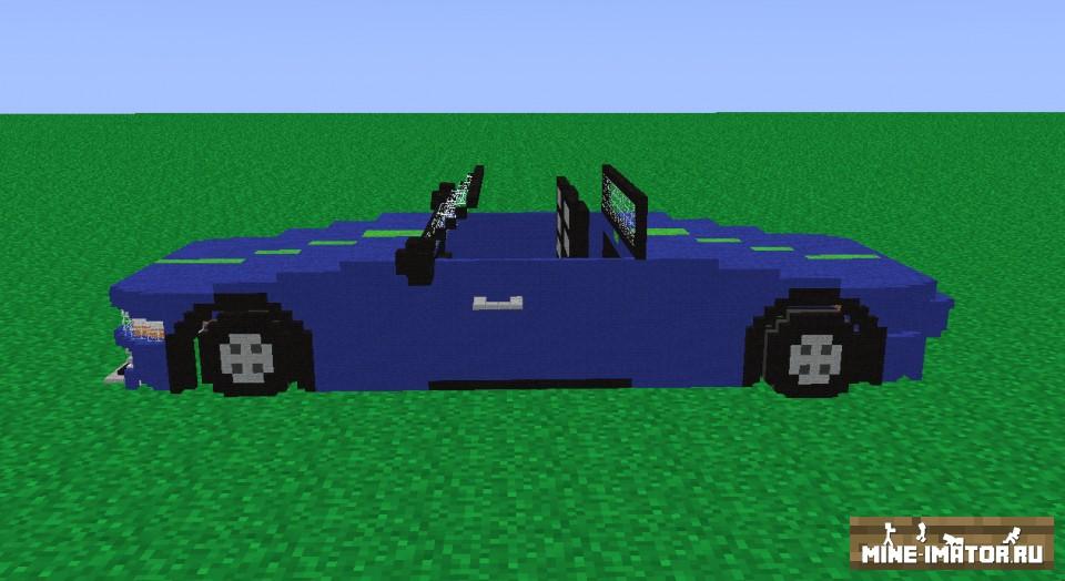 Mine-imator Авто без крыши