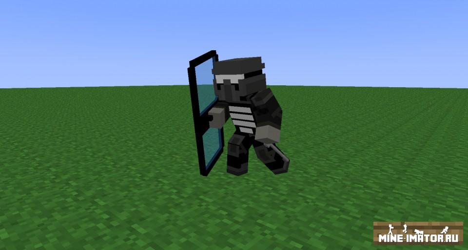Mine-imator Juggernaut из MW3