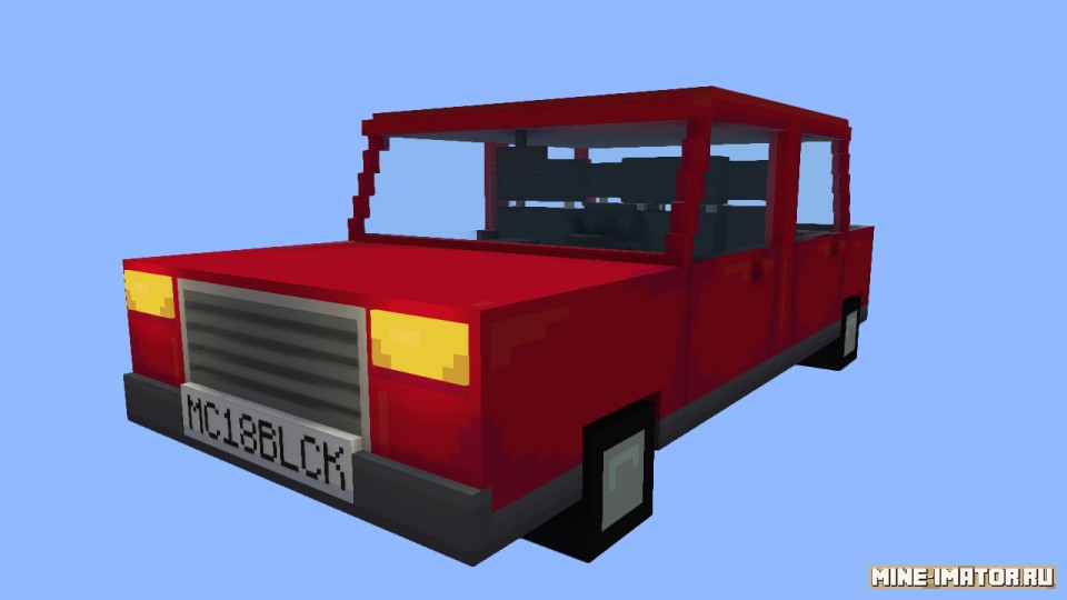 Mine-imator Автомобиль