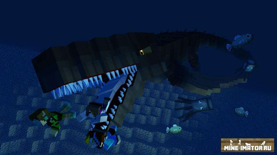 Mine-imator Динозавры
