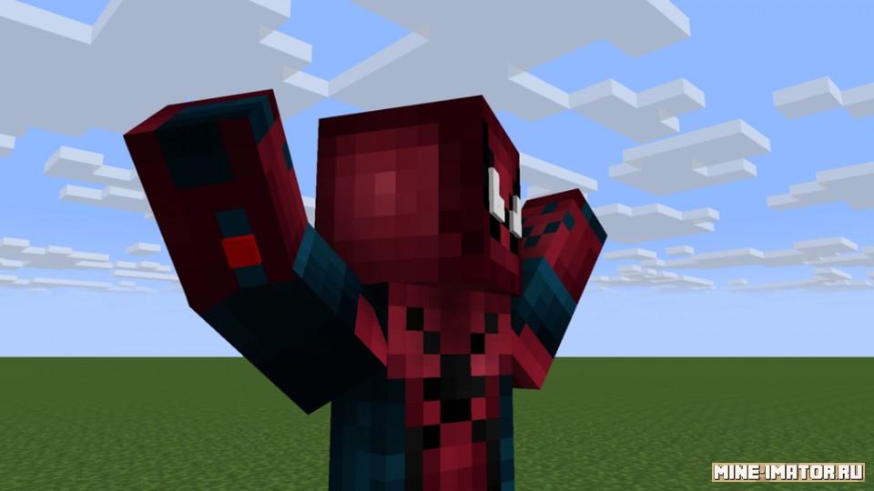 Mine-imator Человек-паук