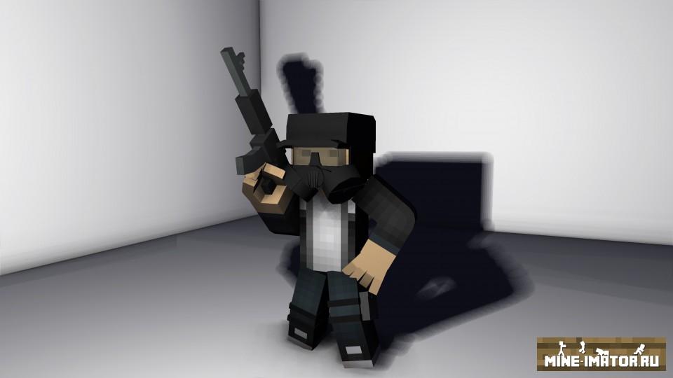 Mine-imator Набор амуниции и оружия