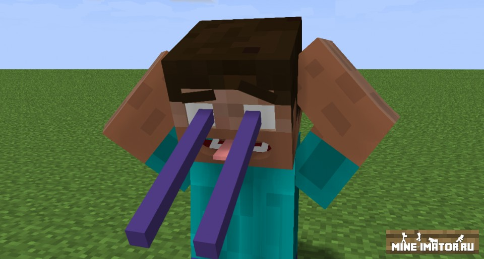 Mine-imator Стив от blockerlocker