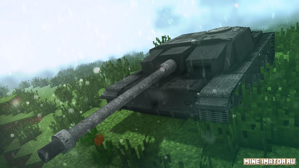 Mine-imator Танк Stug 3