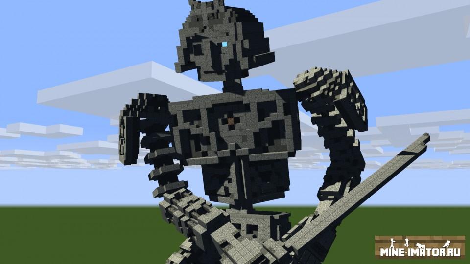 Mine-imator Титан