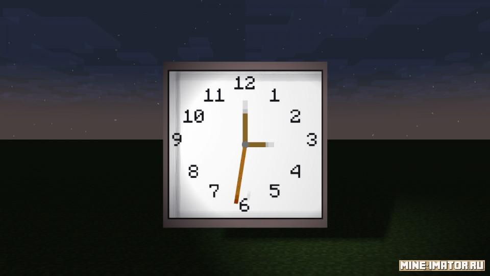 Mine-imator Часы