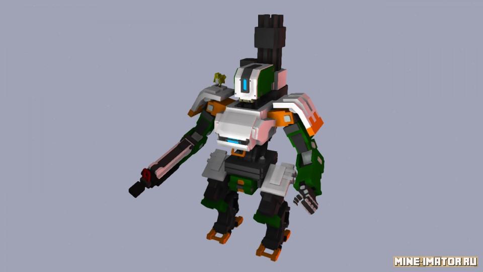Боевой робот Бастион
