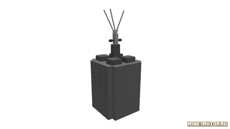 Mine-imator Выпрыгивающая мина