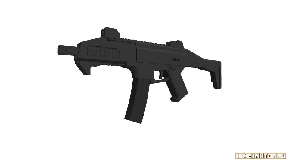 Mine-imator Пистолет-пулемет - CZ Scorpion EVO