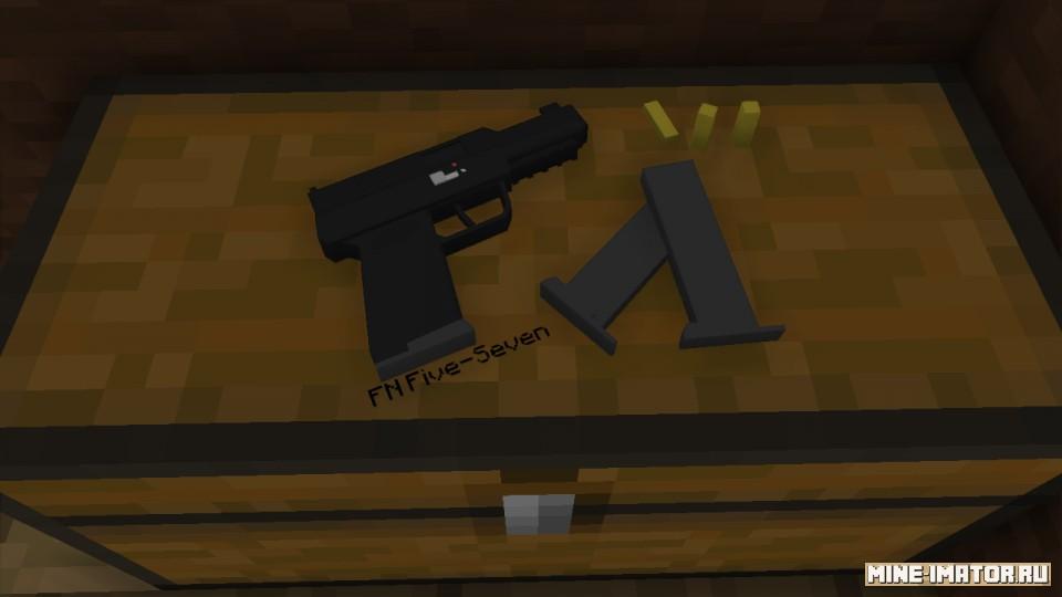 Mine-imator Пистолет FN Five