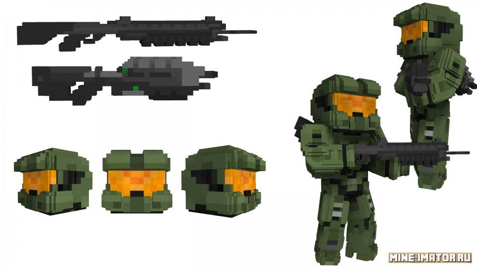 Mine-imator Спартанец-117