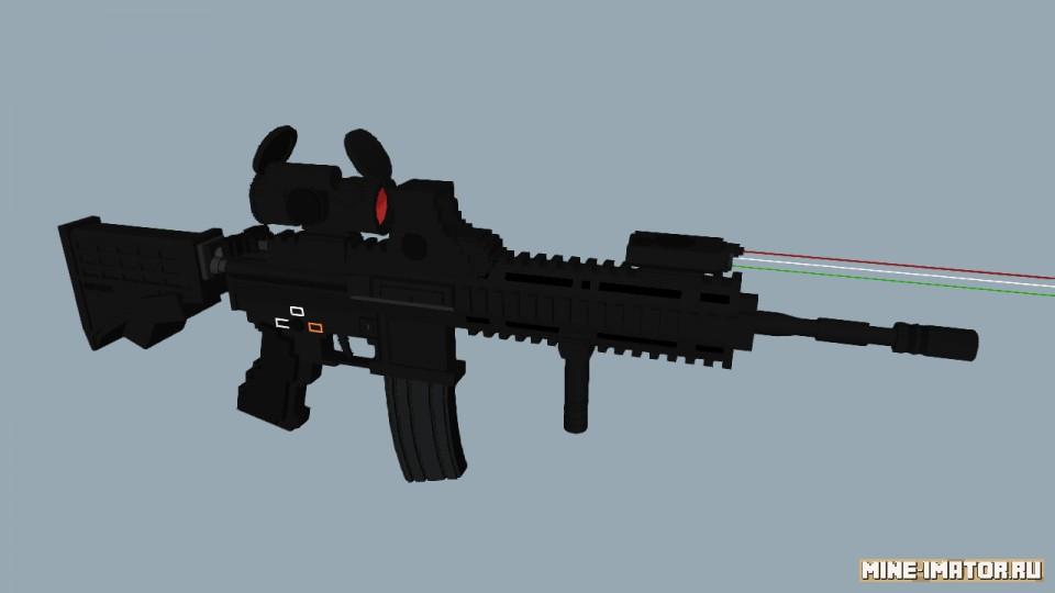 Mine-imator Штурмовая винтовка HK416
