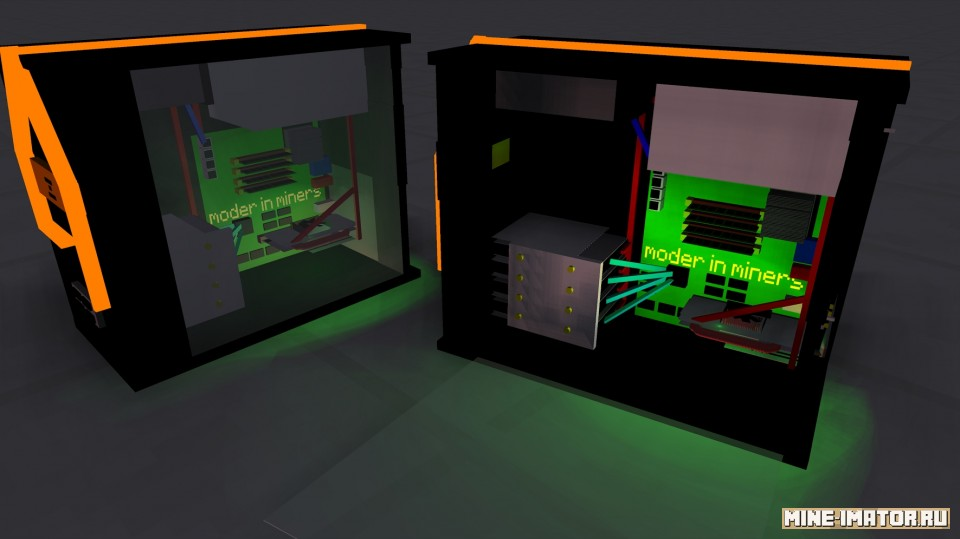 Mine-imator Компьютерный системный блок