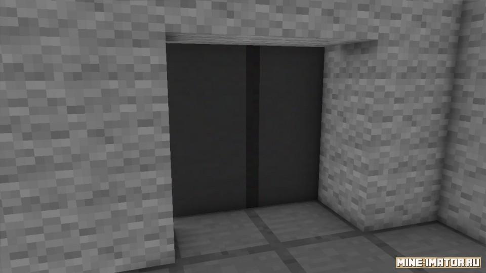 Mine-imator Модель лифта