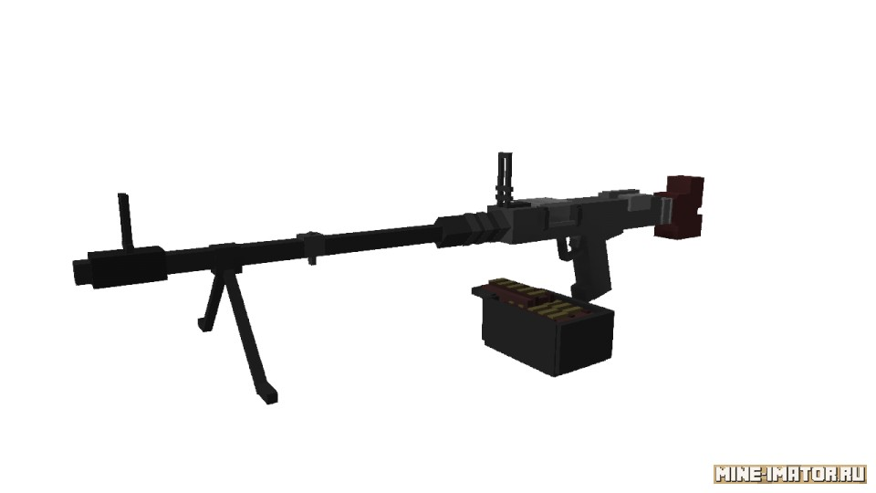 Mine-imator Пулемет MG-34