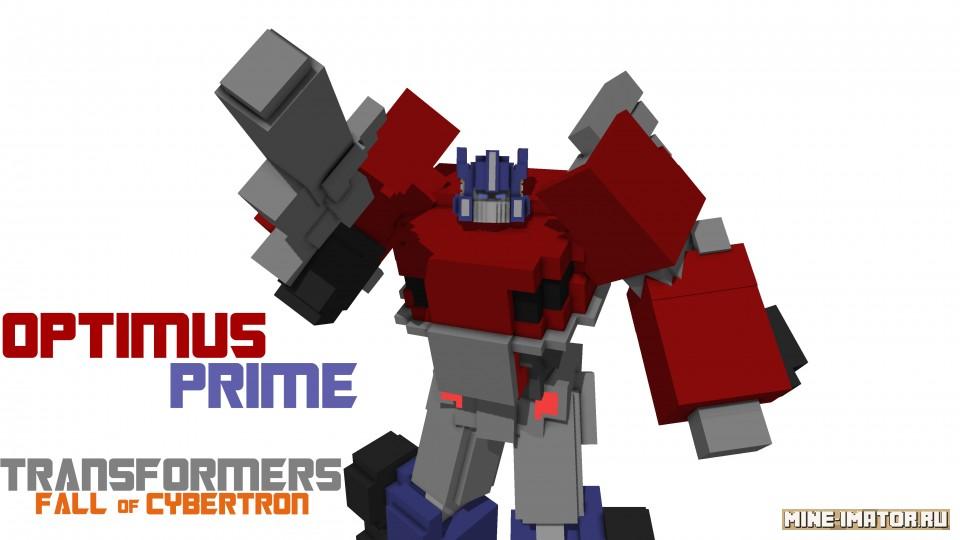 Mine-imator Optimus Prime