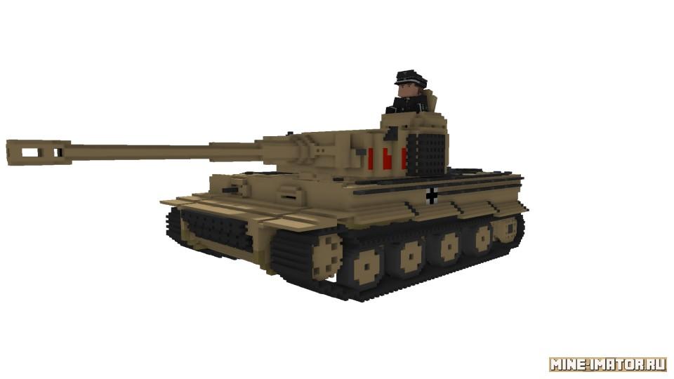 Mine-imator Танк Тигр