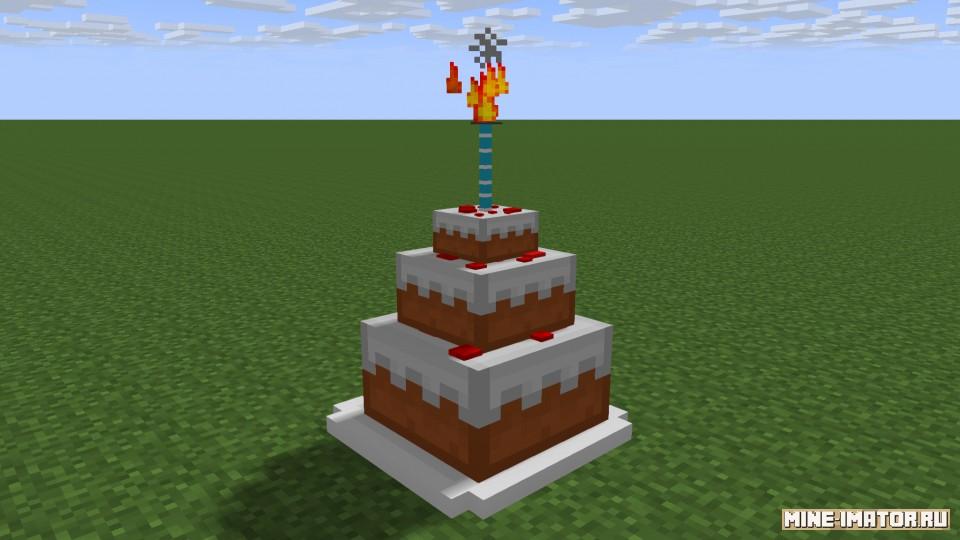 Mine-imator Торт