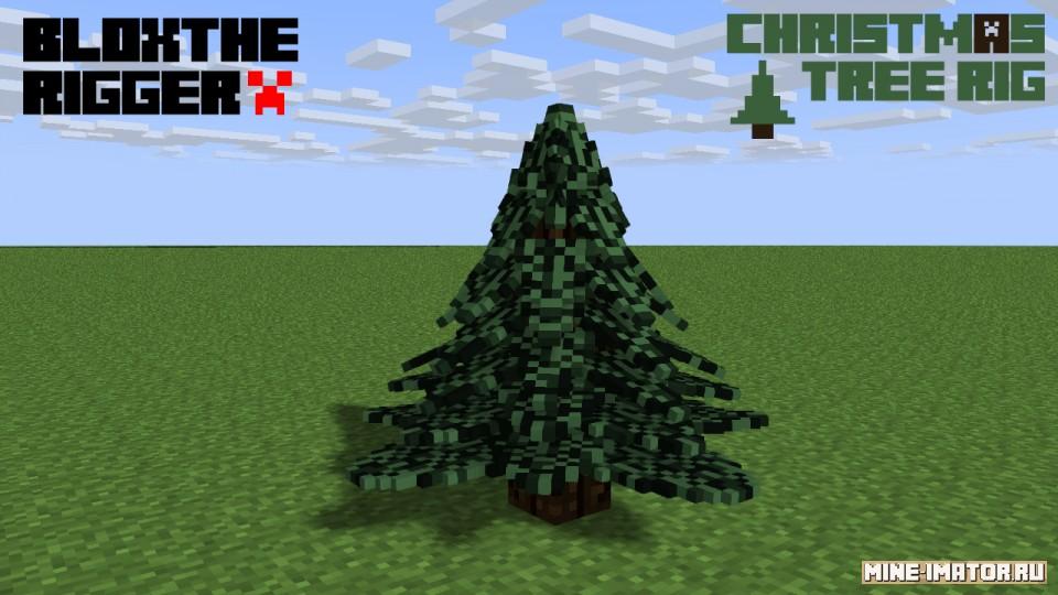 Mine-imator Новогодняя елка