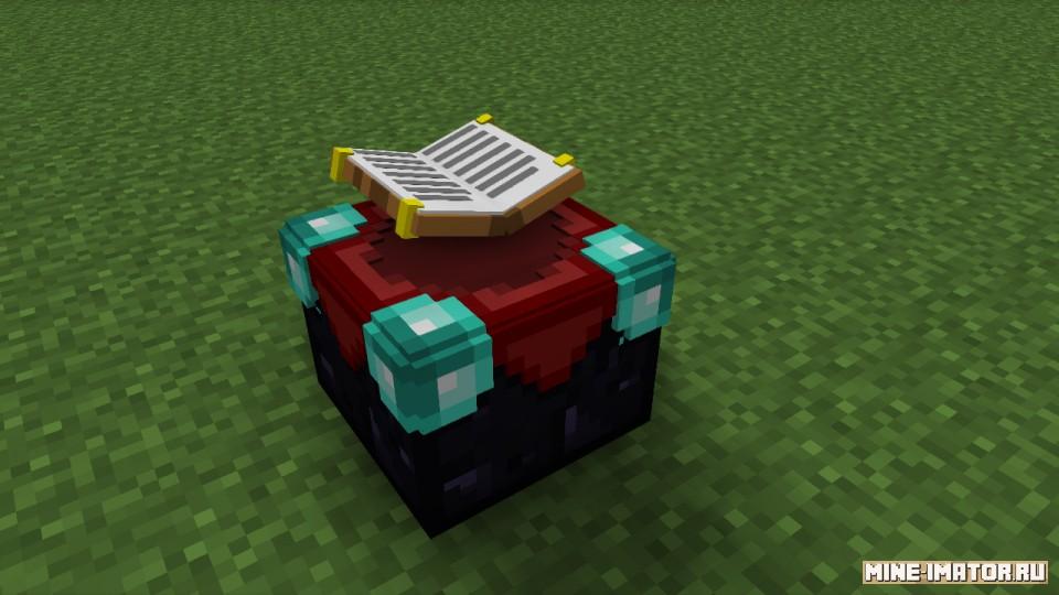 Mine-imator Стол зачарования в 3d