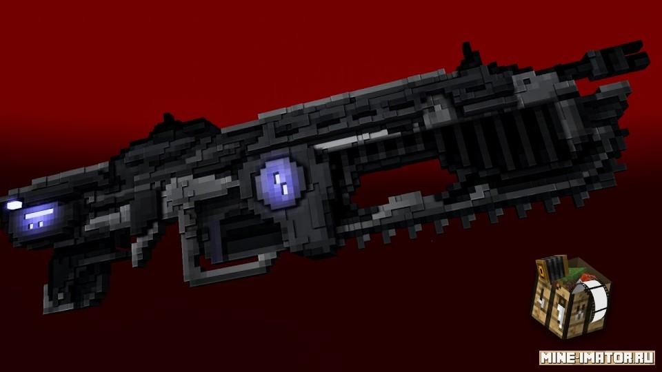 Mine-imator Автоматическая винтовка Лансер