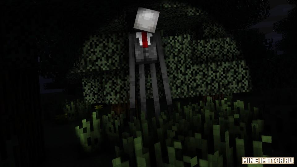 Mine-imator Слендермен