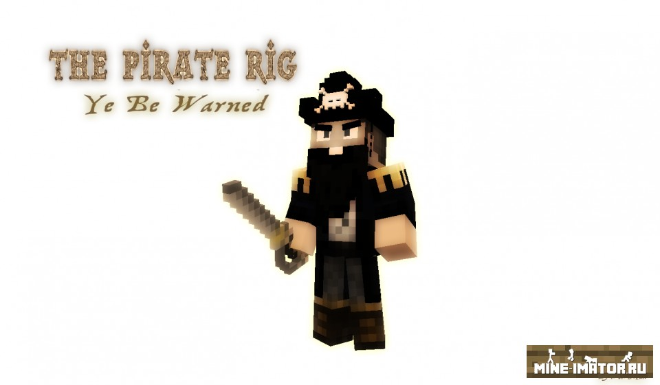 Mine-imator Пират