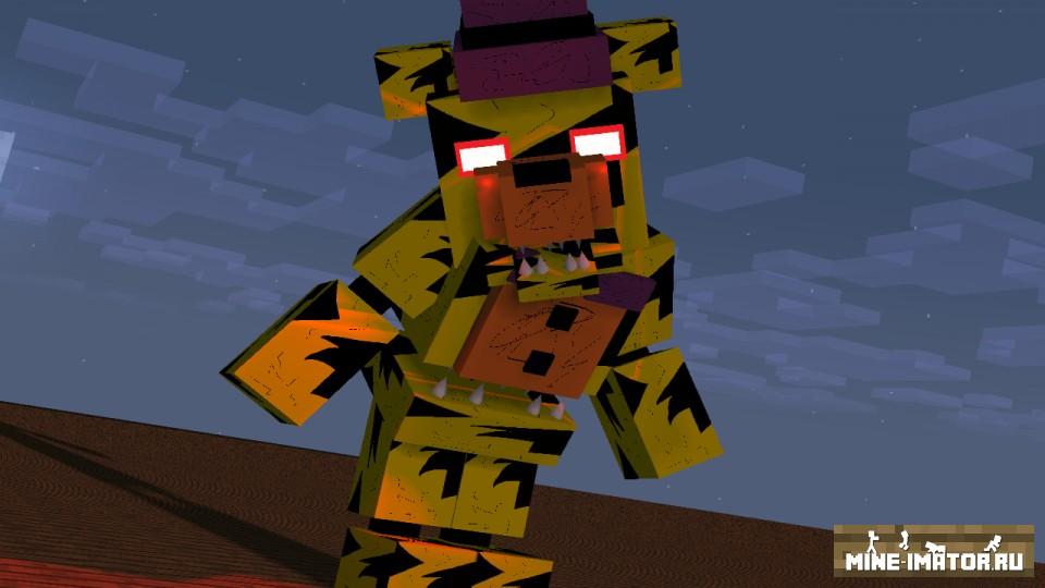Фредбер из Five Nights at Freddy's