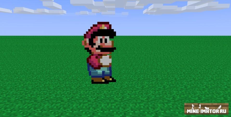 2D-модель Марио