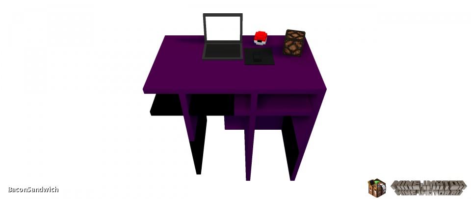 Кровать, стул и письменный стол