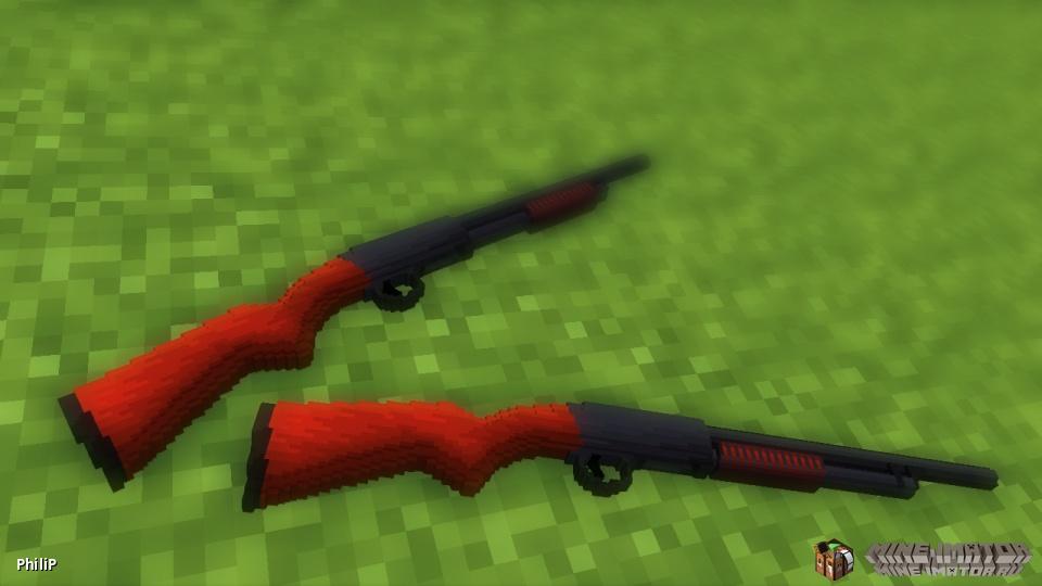 Модель ружья Ithaca 37