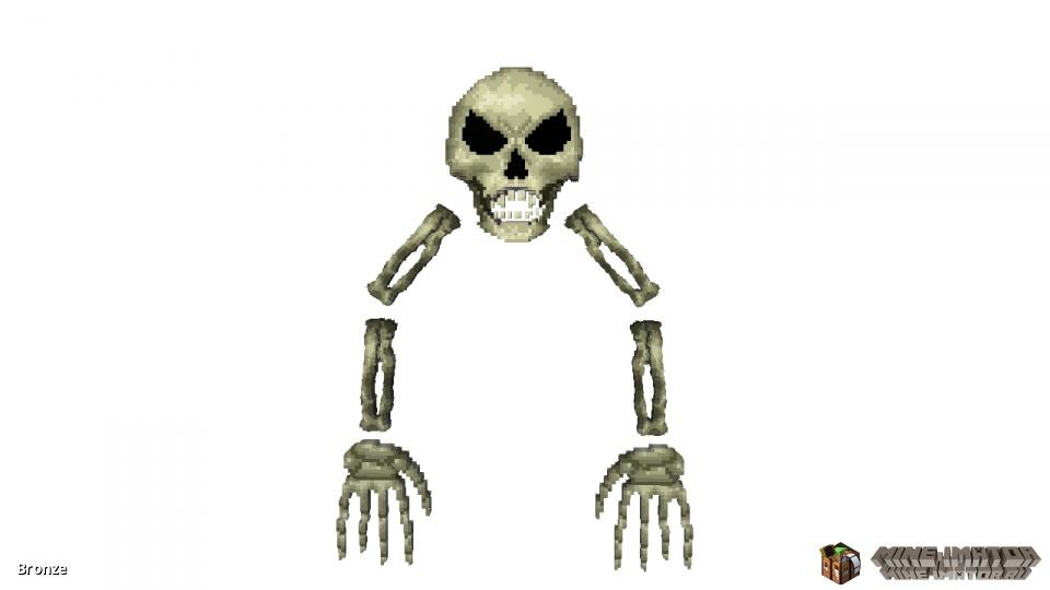 Скелет из Terraria