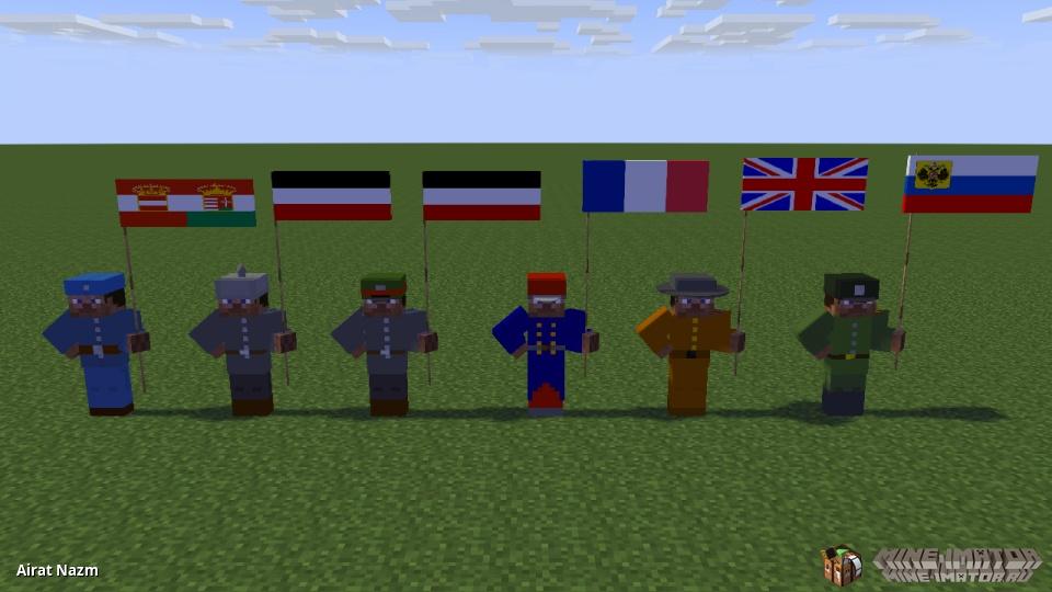 солдаты 1 мировой