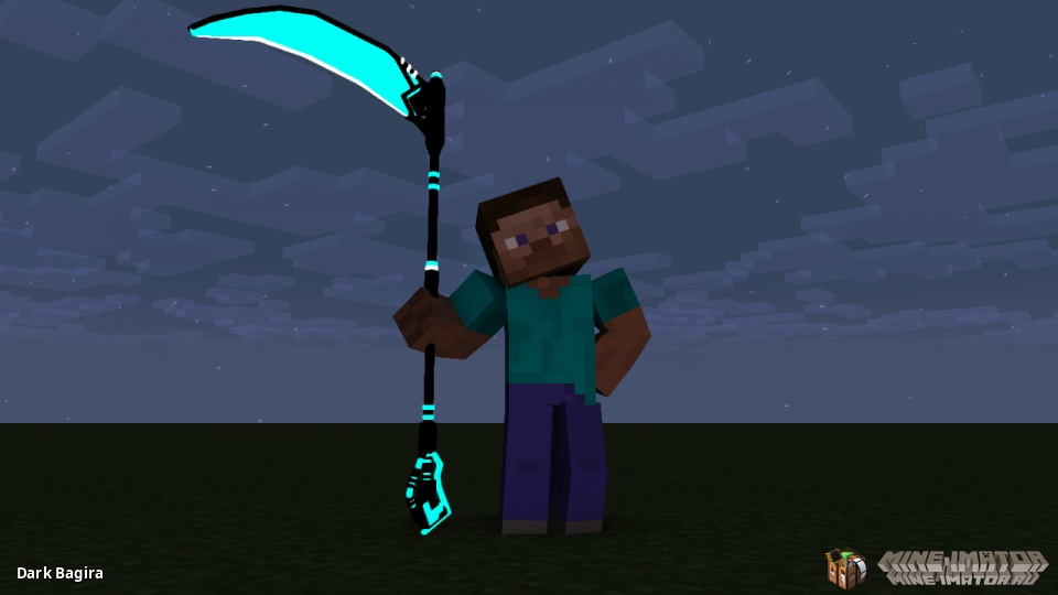 Turquoise Scythe of Death
